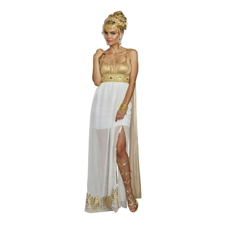Greece Goddess Costume (Dreamgirl Women's Athena Greek Goddess)