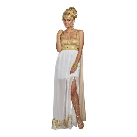 Girl Greek Costume (Dreamgirl Women's Athena Greek Goddess)
