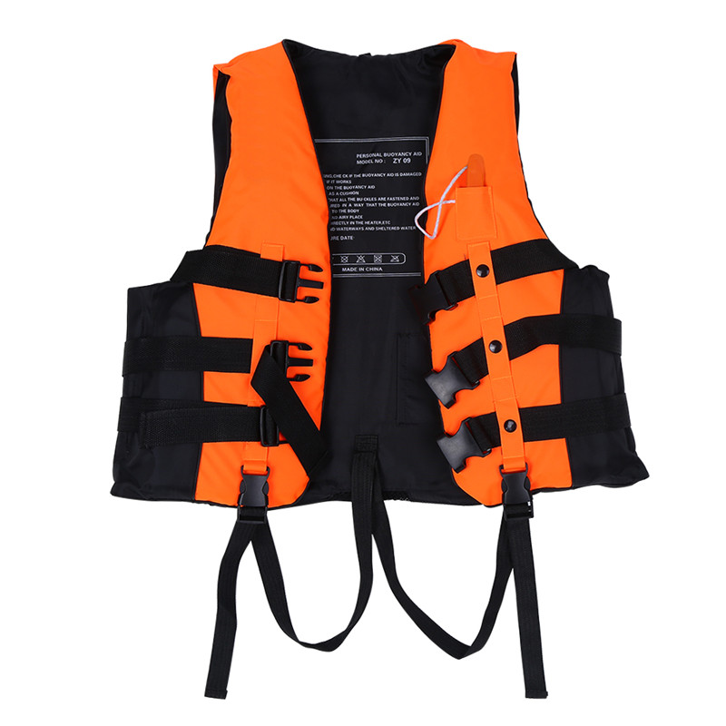 Adult and Children Universal Life Vest Jacket Buoyancy Aid Swimming Boating Kayaking Jacket Drifting Ski Vest with... by