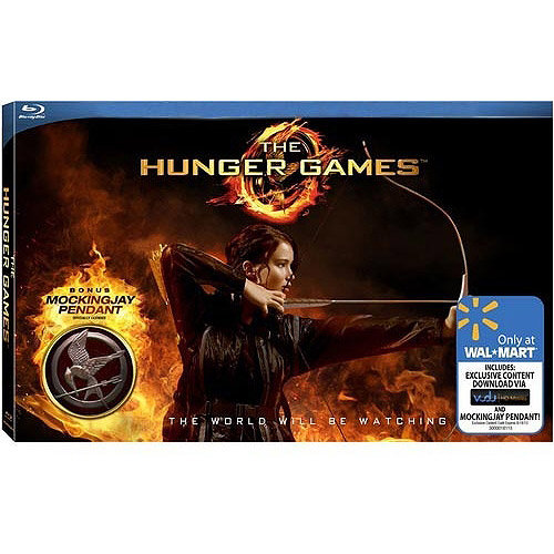 The Hunger Games (Walmart Exclusive) (Blu-ray + Mockingjay Pendant)