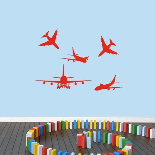 Sweetums Signatures Airplanes Small Set Wall Decal
