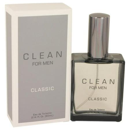 Clean Men by Clean Eau De Toilette Spray 2.14 oz