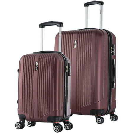 "InUSA San Francisco 2-Piece 18""& 26"" Lightweight Hardside Spinner Set Luggage"