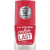 L.A. Colors Color Last Nail Polish, Faith
