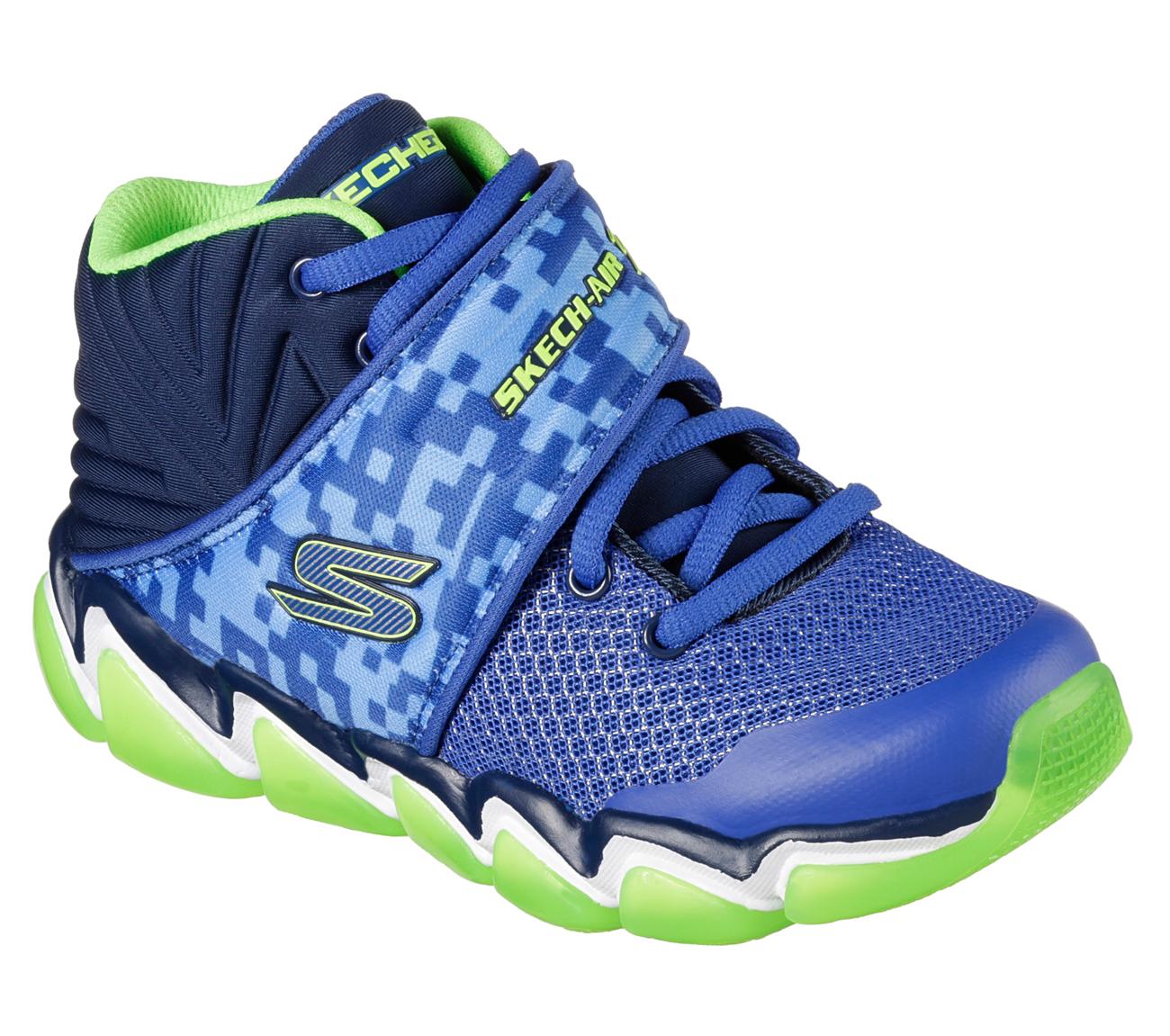 Skechers 97413L BNVL Boy\'s SKECH-AIR 3.0 - ABRUPT IMPACTS Sneaker ...