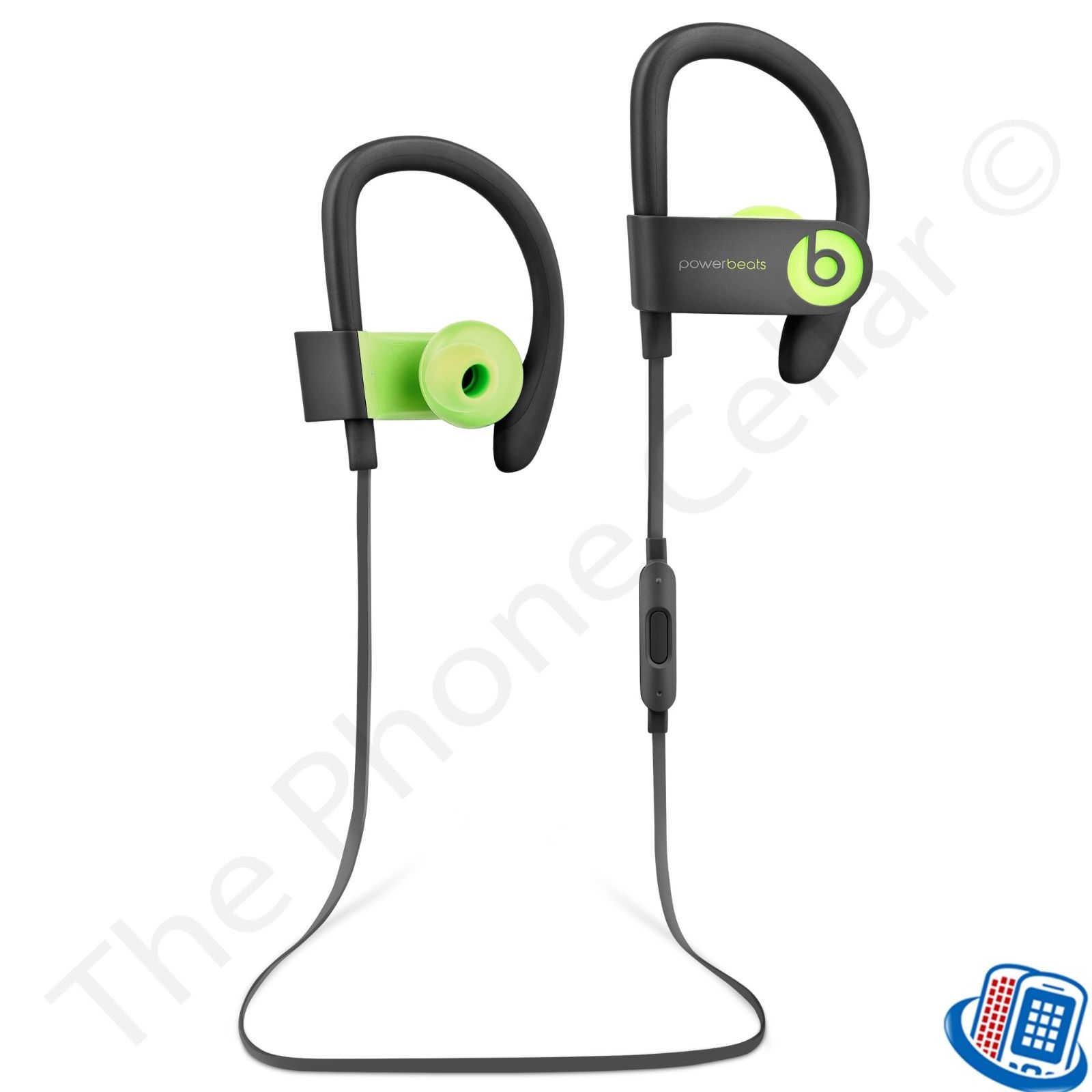 Refurbished Beats by Dr. Dre Powerbeats 3 Wireless Active Yellow Bluetooth Ear-Hook Headphones