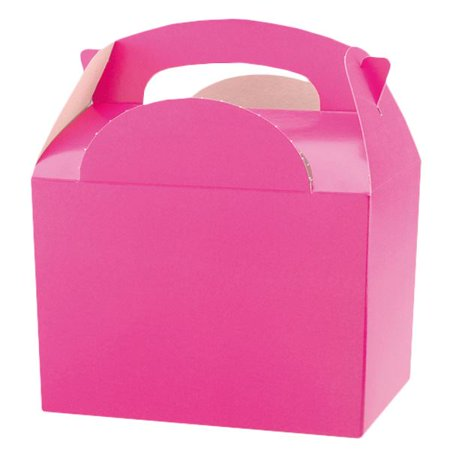 10pcs Hot Pink Party Box Party Table - Hot Pink Party Decorations