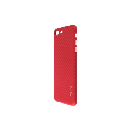Carbon Case (Durable Break Resistant Armor case RED Carbon Style Shockproof iphone 8 PLUS )