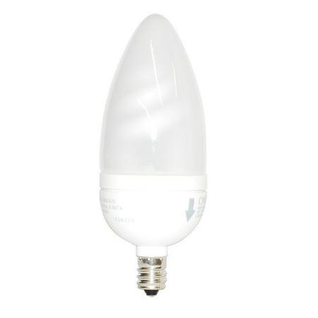 Osram Sylvania 4w 120v E12 Flame Candelabra Fluorescent