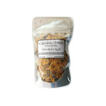 Reiki Charged Calendula Flowers Wildcrafted in Egypt Loose Leaf Dried Whole 10 gram bag Small Sample
