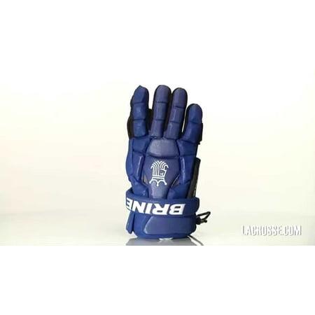 New Brine King Superlight 2 Lacrosse Gloves L Royal/White ()