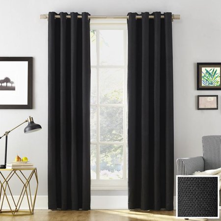 Sun Zero Baxter Home Theater Grade Extreme Blackout Curtain Panel