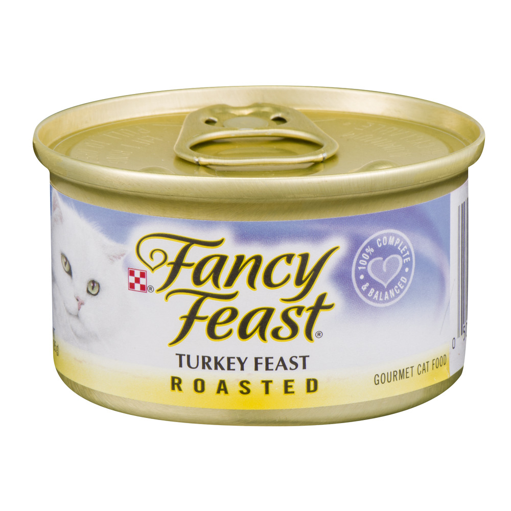 Fancy Feast Turkey Feast Roasted Gourmet Cat Food, 3.0 OZ by Nestle Purina Petcare Company