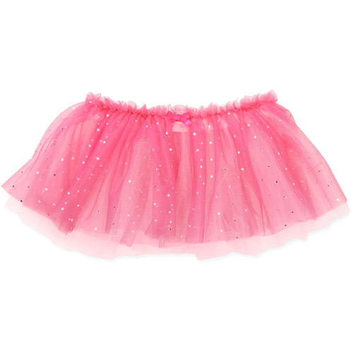 Danskin Girls Dance Foil Dot Tutu