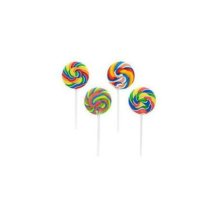 Swirl Pops - Lollipop Suckers (1-Pack of 12) FREE SHIPPING - NEW