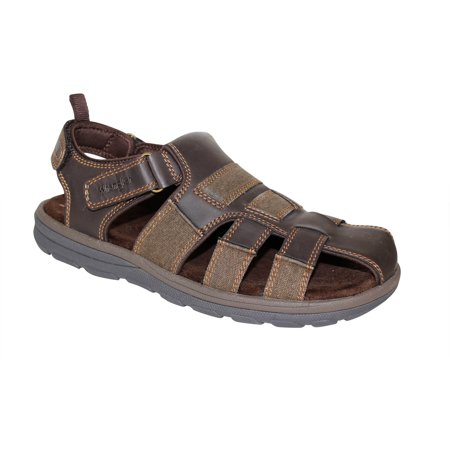Wrangler men 39 s fisherman sandal best mens fisherman sandals for Mens fishing sandals
