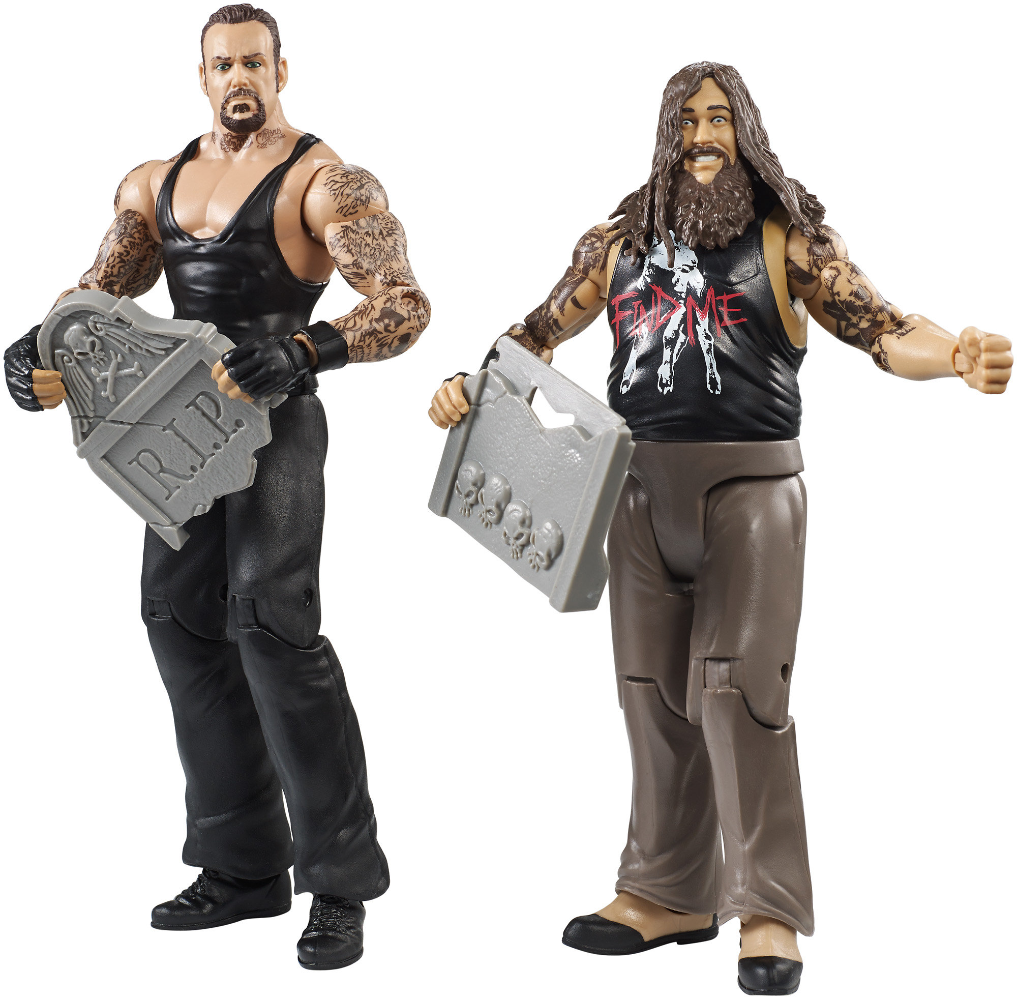 WWE Figure 2-Pack, Bray Wyatt & Undertaker
