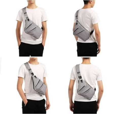 8be739f21 Sling Backpack Shoulder Chest Crossbody Bag Lightweight Casual ...