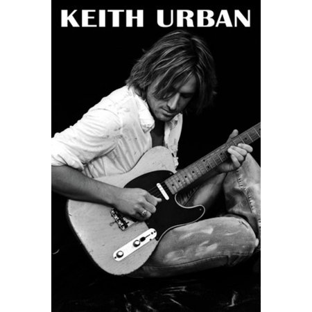 Keith Urban Guitar Poster Poster Print (Pictures Of Keith Urban)