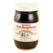 Byler's Relish House Homemade Amish Country Seedless Red Raspberry Jam 16 oz.