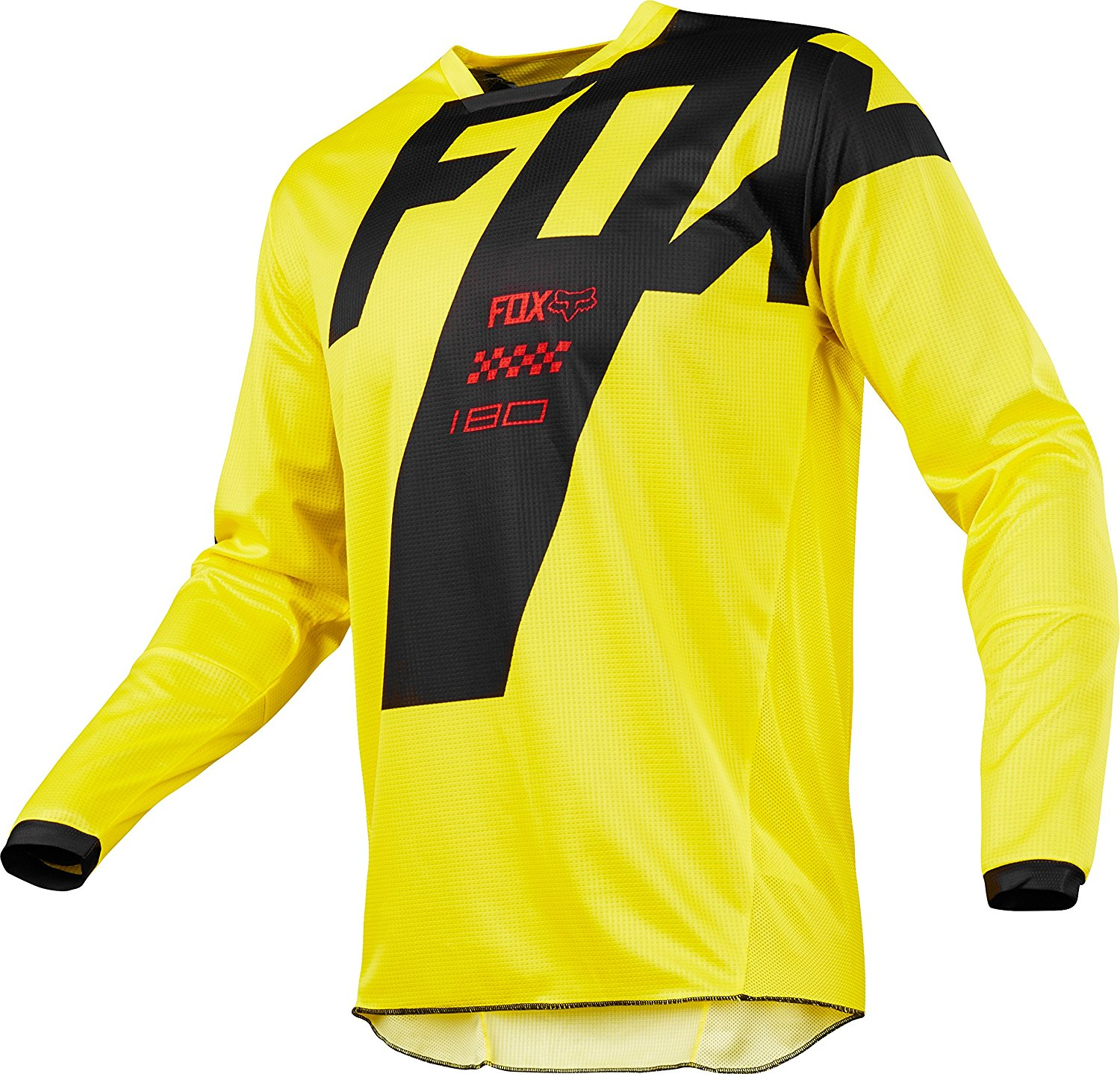 2018 YOUTH 180 MASTAR JERSEY YELLOW M, The Fox Racing jersey is a perfect fusion of function and style By Fox Racing from USA