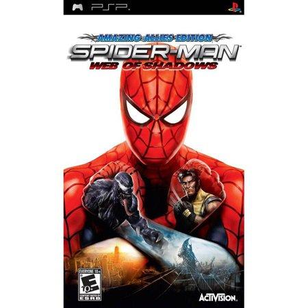 Spider-Man: Web of Shadows - Sony PSP (Spiderman Web Of Shadows Wii)
