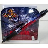 - Florida Panthers Stationery Desk Caddy with Matching Ballpoint Grip Pen