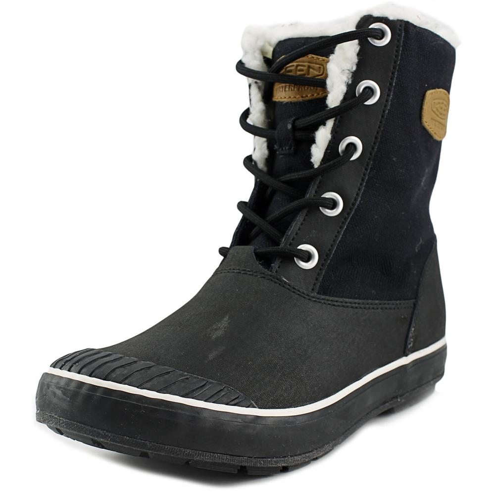 Keen Elsa Boot WP Women Round Toe Leather Winter Boot by Keen