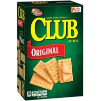 Keebler Club Light Flaky Butter Original Snack Crackers 13.7 oz.