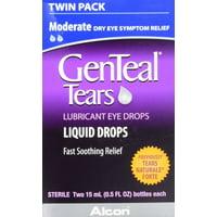 Genteal Tears Moderate Eye Drops, 0.5 fl oz, 2 Pk
