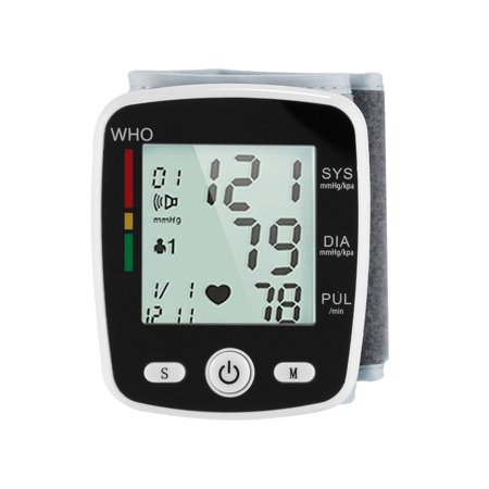 Outad Upper Arm Lcd Display Automatic Wrist Blood Pressure Monitor Household Use Withe - image 1 of 13