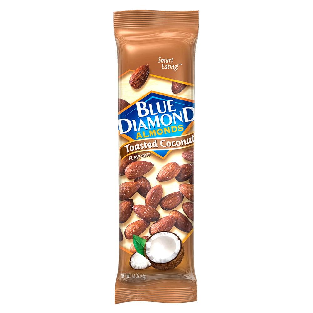 Blue Diamond Almonds, Toasted Coconut, 1.5 Oz, (12 Pack)