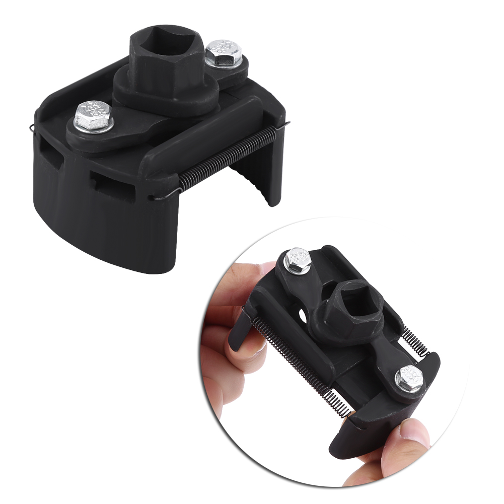 60mm-80mm Adjustable 2 Jaw Oil Filter Wrench Fuel Remover Removal Tool for Universal