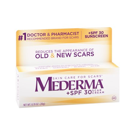Mederma Scar Cream, +SPF 30, 0.70 oz