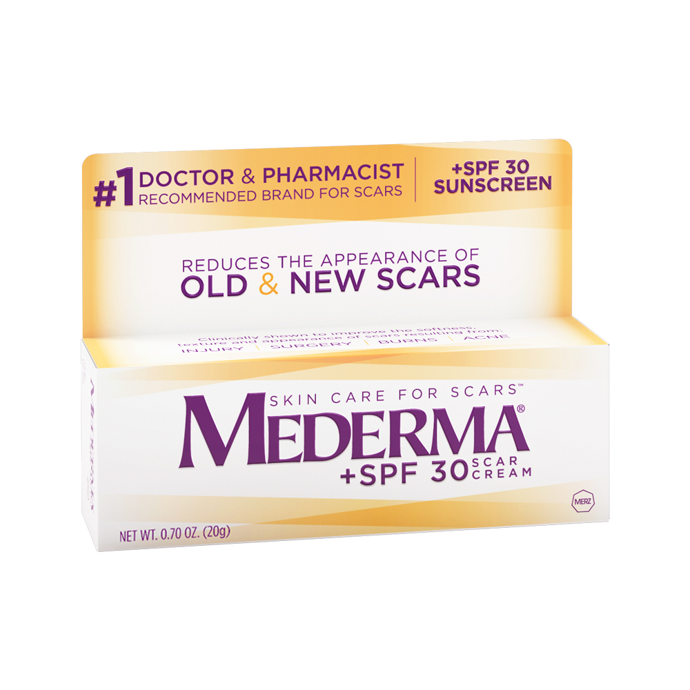 Mederma Skin Care for Scars Scar Cream, +SPF 30, 0.70 oz