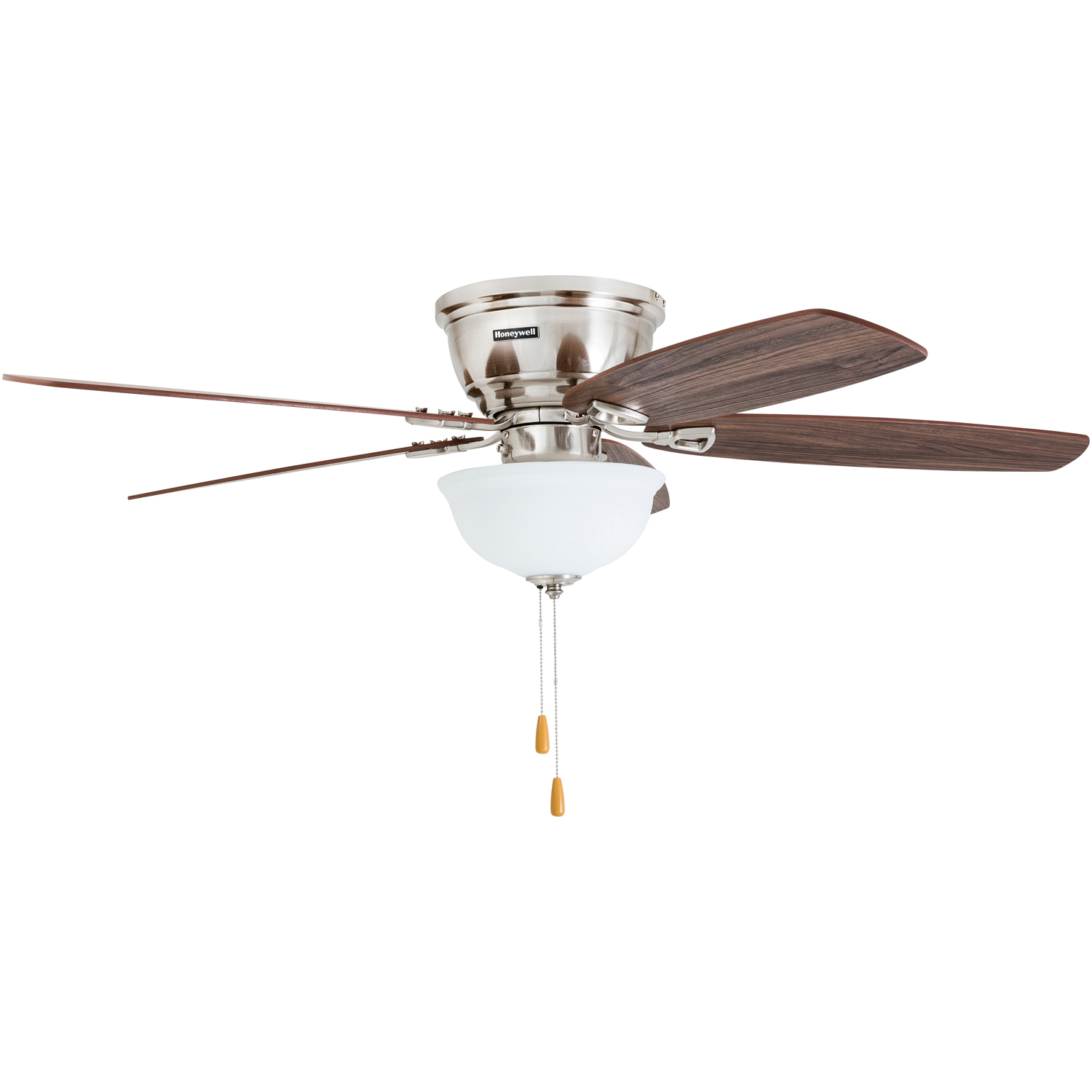 52 Honeywell Eastover Ceiling Fan Brushed Nickel Light Pull Chain Switch Industrial Floor Wiring Diagrams 2016