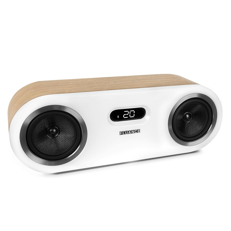 Fluance Fi50 Two-Way High Performance Wireless Bluetooth Premium Wood Speaker System with aptX Enhanced Audio (Lucky Bamboo) - image 1 de 11