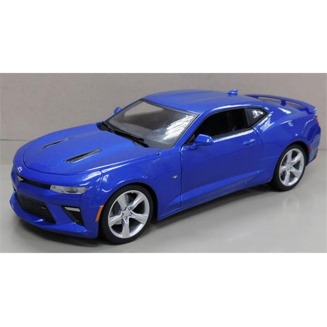 Maisto MAI31689MBL 2016 Chevrolet Camaro SS in Metallic Blue by Maisto International Inc