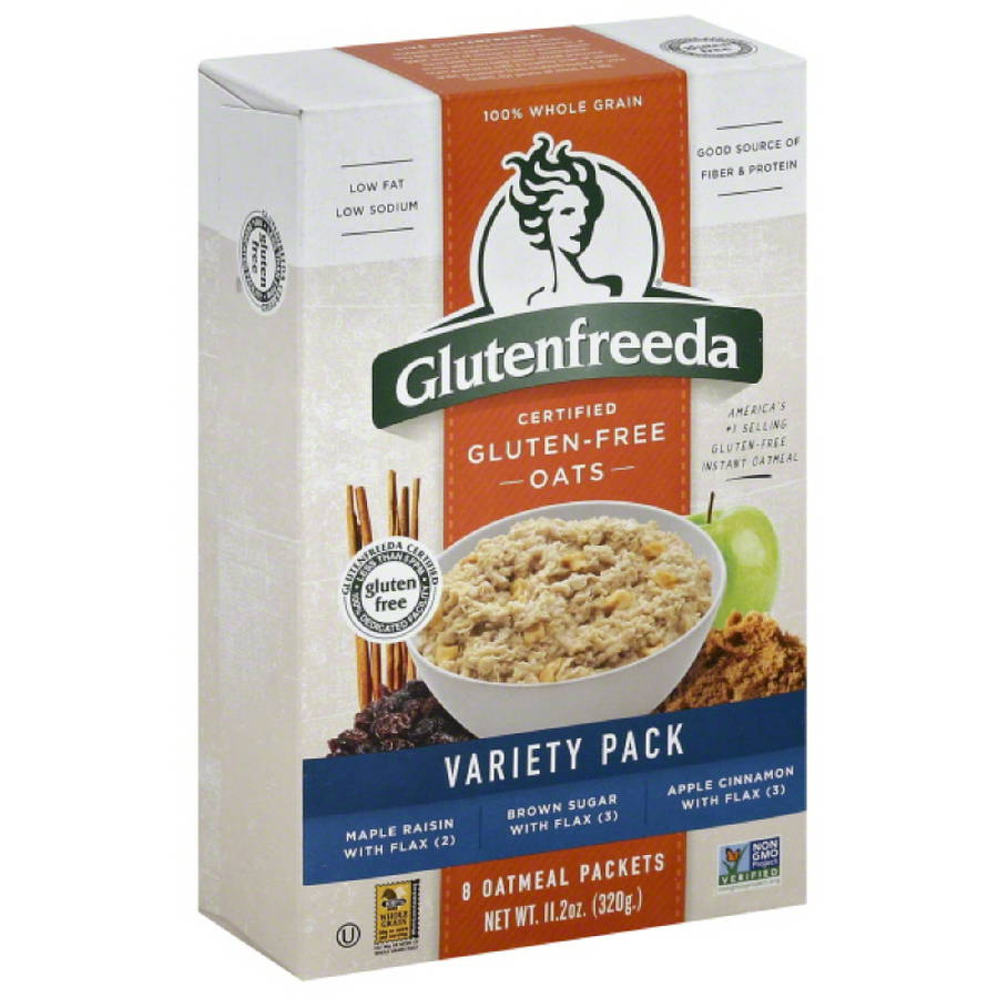 Glutenfreeda Gluten Free Oatmeal Variety Pack, 11.2 oz, (Pack of 8)