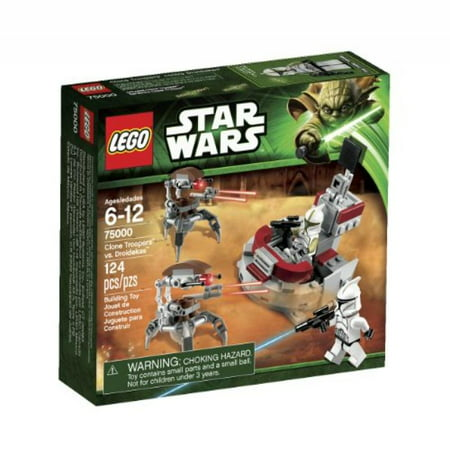 LEGO Star Wars Clone Troopers vs  Droidekas Play Set