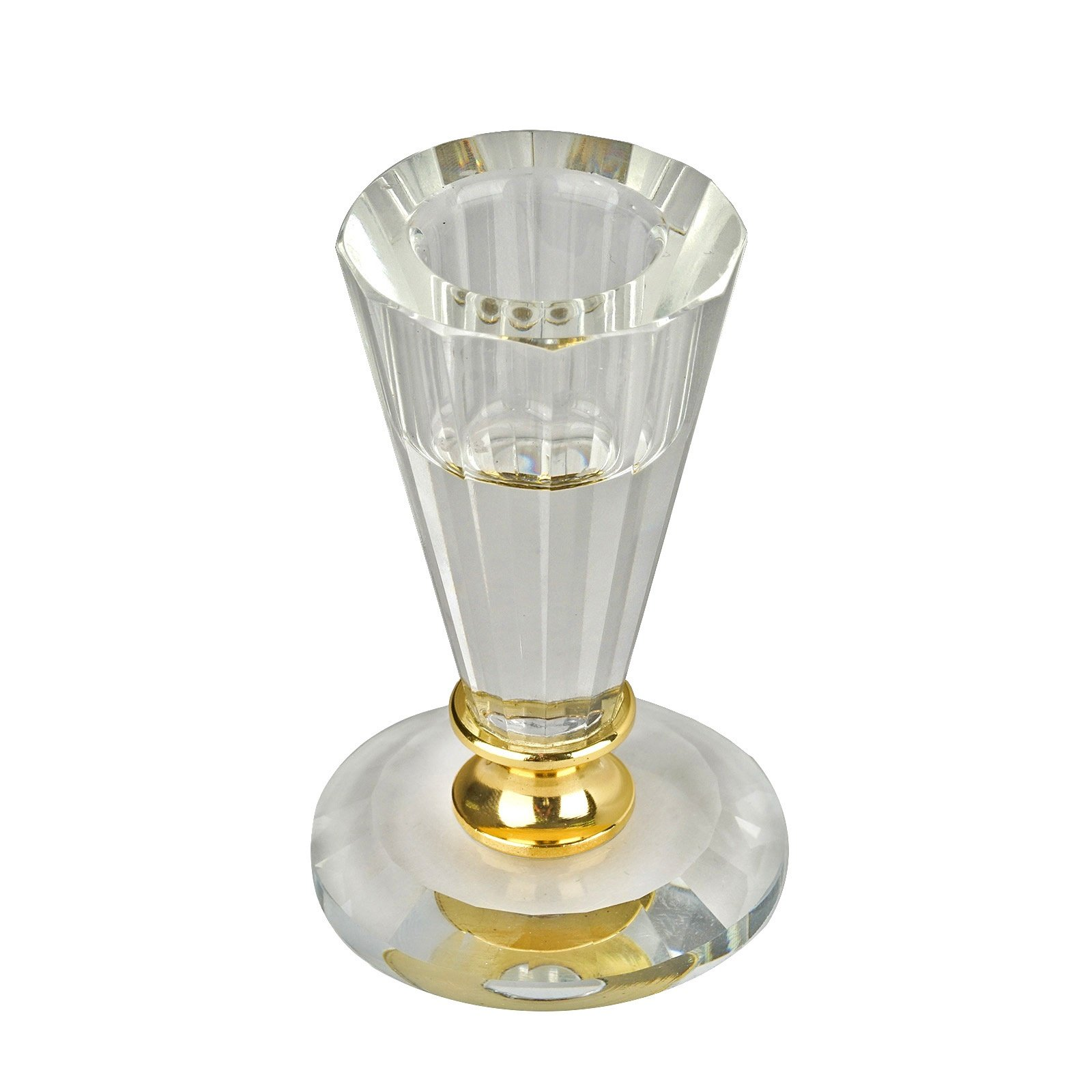 Efavormart 3 Gemcut Egyptian Handcrafted Glass Crystal Votive Candlestick Holder With Gold Metal Stem Table Top Wedding Centerpi Walmart Com Walmart Com