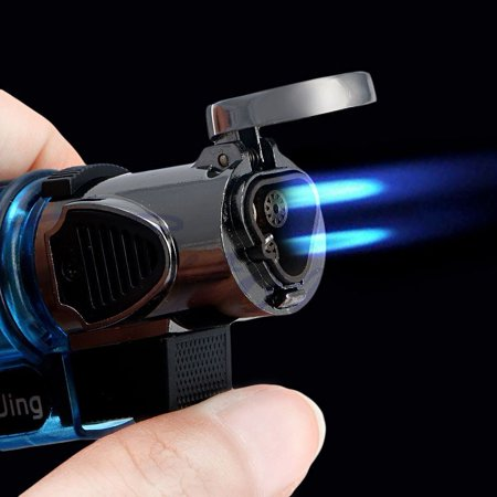 Butane Jet Flame Cigar - Windproof Refillable Butane Gas Trip Torch Jet Flame Cigarette Cigar Lighter New By Garden Furniture