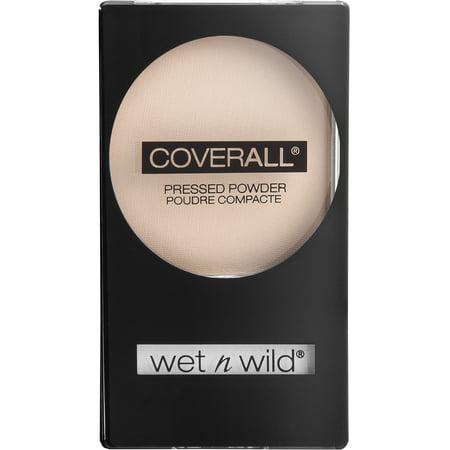 (2 Pack) wet n wild CoverAll Pressed Powder, Medium ()