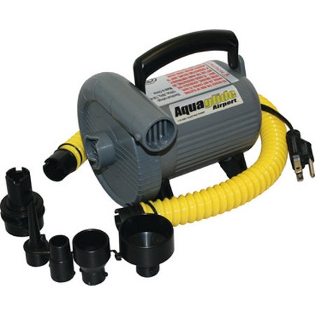 - Aquaglide 58-5205006 Electric Air Inflator 110 Volt Heavy Duty Pump