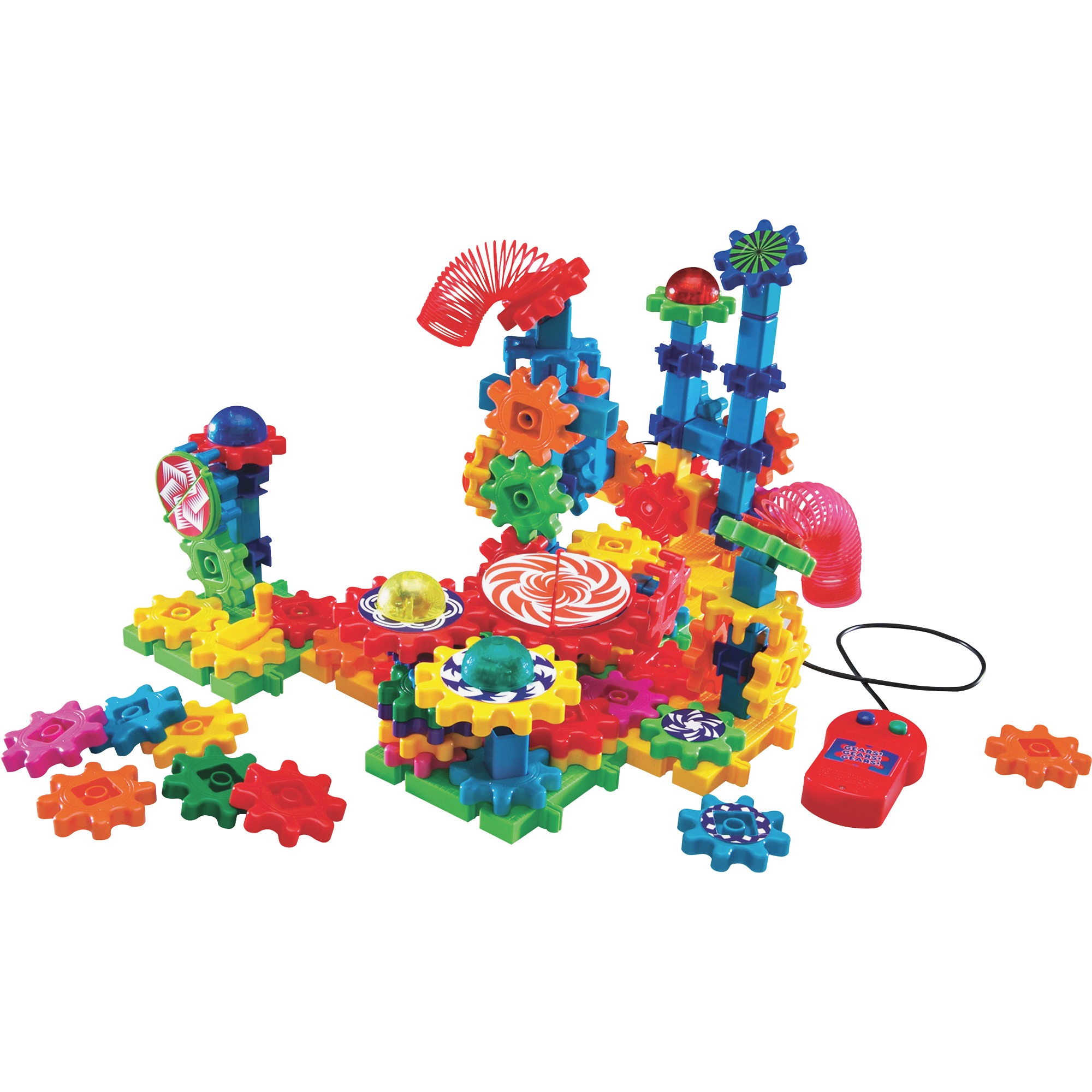 Learning Resources Gears! Gears! Gears! Lights & Action Building Set