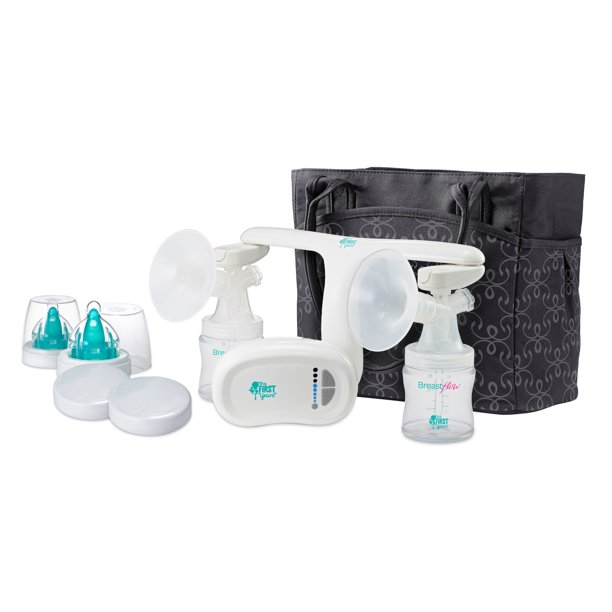 The First Years Quiet Expressions Double Electric Breast Pump Walmart Com Walmart Com