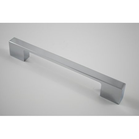 Satin Chrome Bar Pulls (Residential Essentials 6 14 Center Bar)