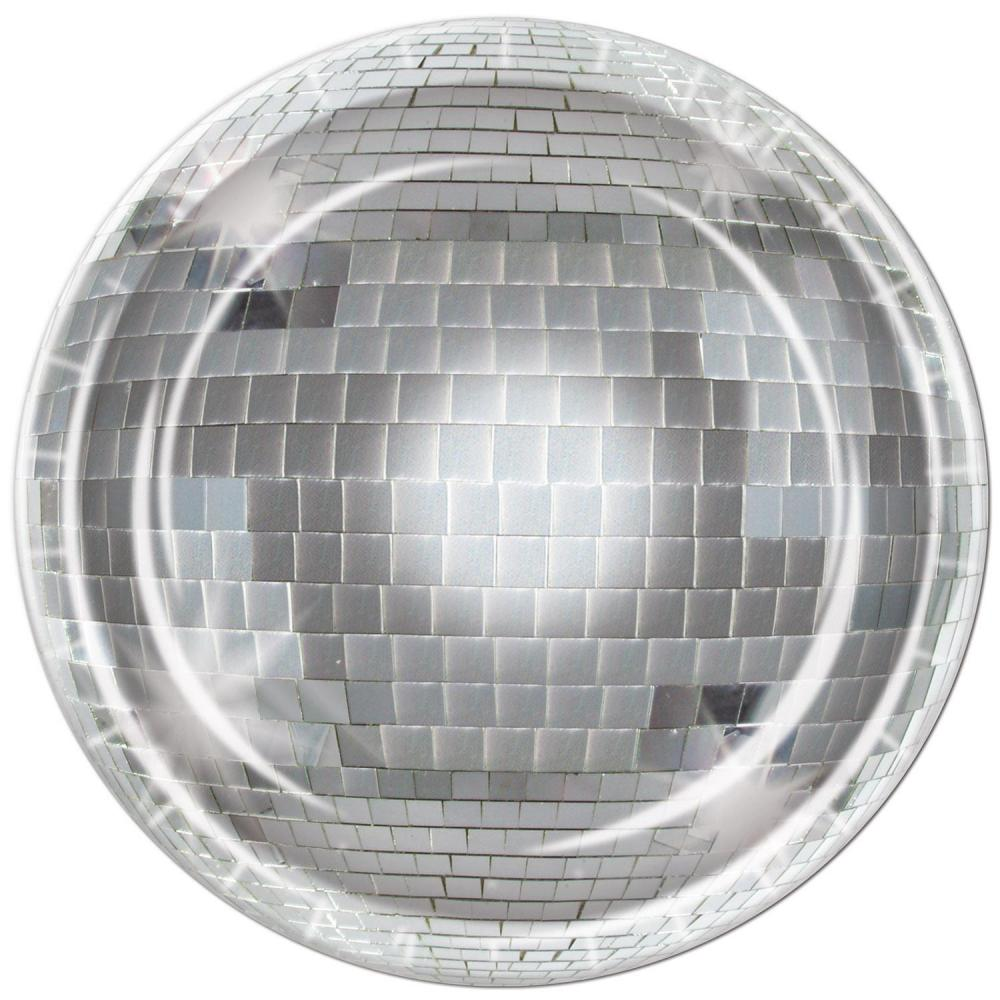 (96ct) Disco Ball Plates by The Beistle Company