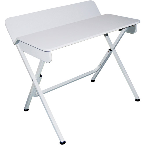 Student Computer Desk With Back Shelf, W