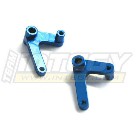 T-rex 450 Nitro - Integy RC Toy Model Hop-ups C22505BLUE Alloy Aileron Lever (2) for T-Rex 450
